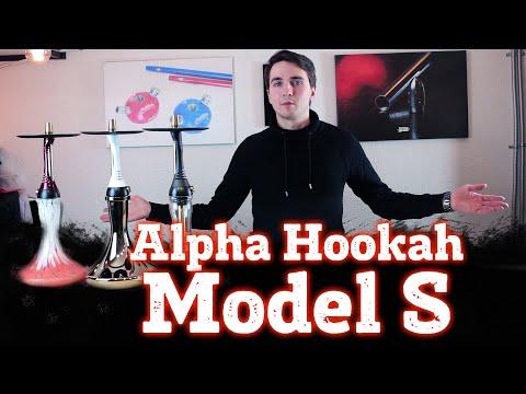 Alpha Hookah Model S. Новая дизайнерская модель знаменитой компании.