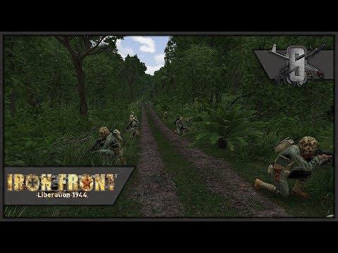 USMC vs Banzai Charge in Jungle - ArmA WW2 Mod - US Marines Pacific Warfare