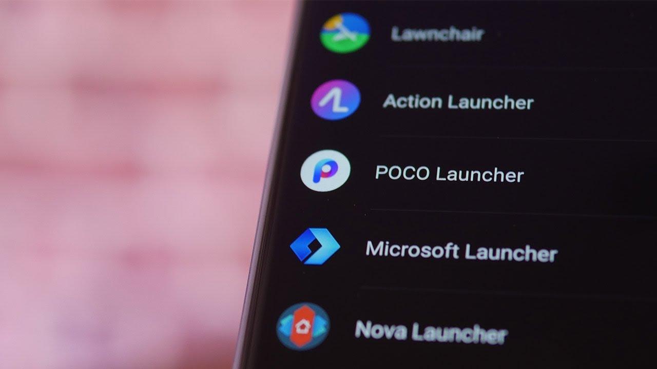 Notre sélection des meilleurs launchers d'applications