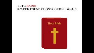 Week 3 Foundations GO Ye with power no fear by Kathy Brocks LUTG RADIO TV