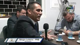 2ª Sessão Ordinária - Sergio Leiteiro
