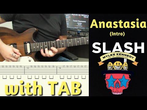 Slash – Anastasia (Intro) in E – w/ TAB by Tiago Samways