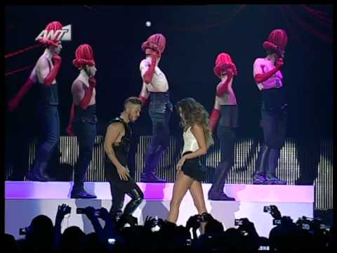 Nicko / Nikos Ganos - Katerina Stikoudi (Break me in the dark) Mad Video Music Awards 2012