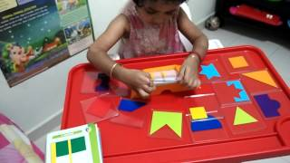 SPS playing Smart games color code - 1