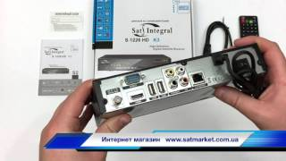 Видео обзор Sat-Integral S 1226 HD K3