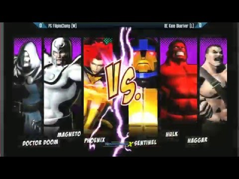UMVC3: Winter Brawl X - Grand Final - BE Kane Blueriver vs PG FilipinoChamp - Top 8
