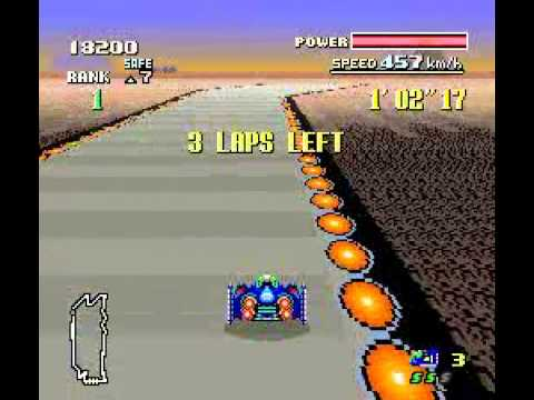 F-Zero (SNES) - Hard & Master - No boosts