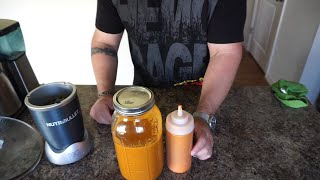 Homemade Hot Sauce  - make hot sauce - hot sauce recipe - cayenne