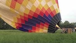 Volo in Mongolfiera 20 giugno 2012 - partenza da Capergnanica (CR) - Parte 1