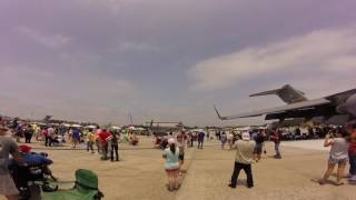 Wings Over Wayne Airshow 2017 at Seymour Johnson AFB