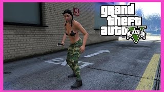 GTA Online | Knifing Snipers Thanks For 8k!