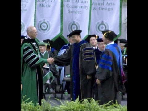The University of North Texas Doctoral and Masters Commencement Ceremony 2014