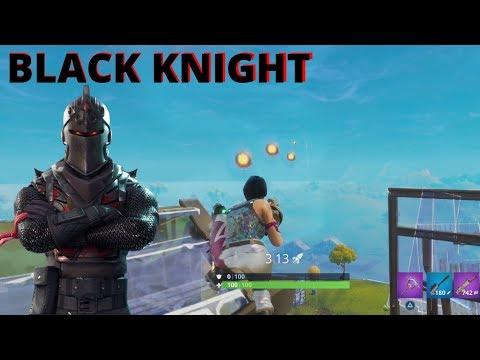 PÅ JAKT ETTER BLACK KNIGHT! - Fortnite Battle Royale #8