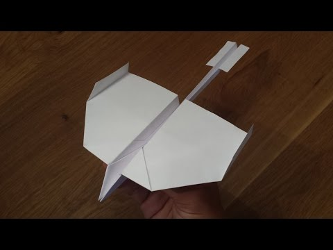 How To Make a Paper Airplane that Flies Far - World's Best Paper Airplane (Swallow)