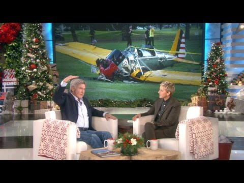 Harrison Ford Discusses His Plane Crash