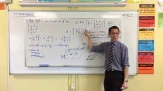 Matrix Determinants (3 of 3: How to Calculate It)
