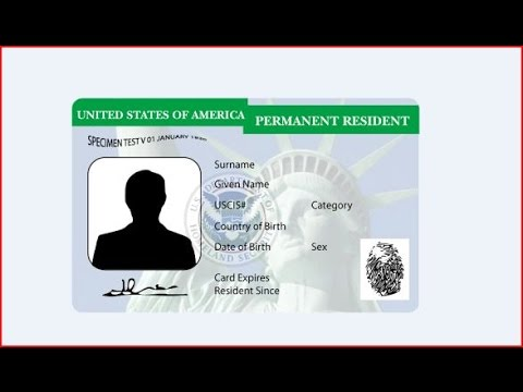 "HOW TO APPLY FOR A GREEN CARD ""I-94 ENTRY AND DEPARTURE"" NO LAWYER OR COMPANY"