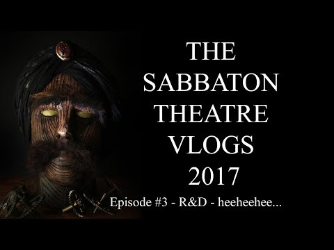 The Michael Sabbaton 'TURK' Theatre VLOGS 2017 #3
