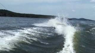 Jeffrey Dale Wake Boarding Wipeout
