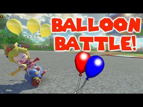 Mario Kart 8 Deluxe Balloon Battle With SponSubs!