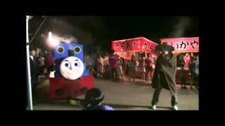 2014岩村町夏祭り変装行列 飯羽間若ボタル