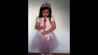 "Sophia Grace sings -- ""Turn My Swag On"" by Keri Hilson 