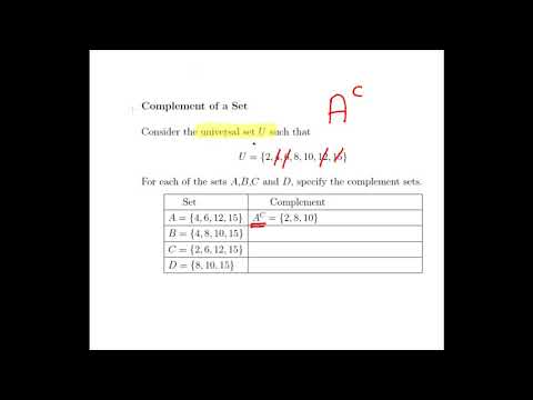 Set Theory Complement