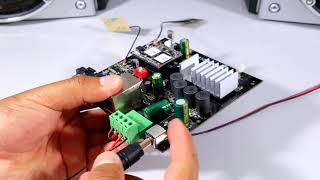 Tarjeta amplificadora de audio - BLUETOOTH, USB, AUX, WIFI
