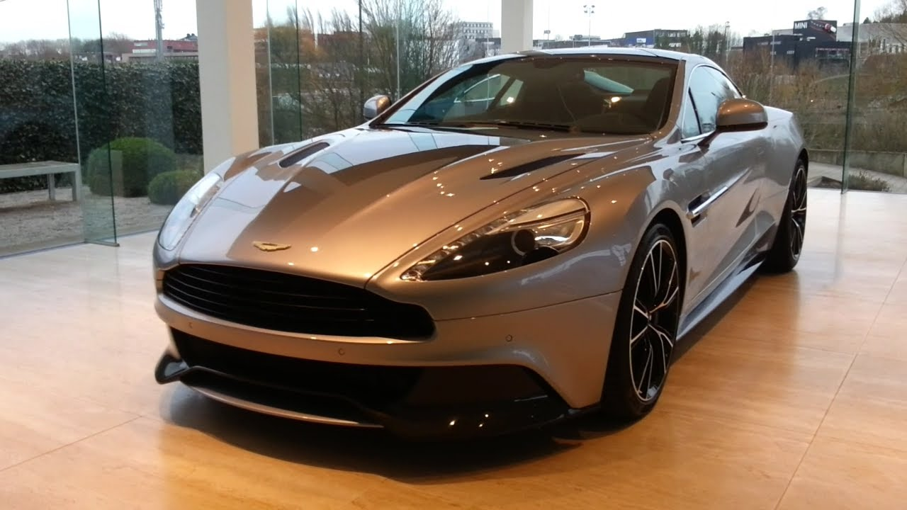 Aston Martin Vanquish V12 2015 In Depth Review Interior Exterior   YouTube