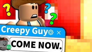 He made a Roblox party for me... and it was REALLY uncomfortable...