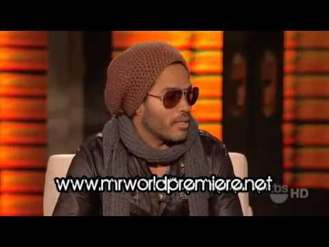 Lenny Kravitz - Interview - Lopez Tonight - Part 1