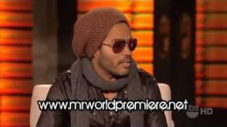 Lenny Kravitz - Interview - Lopez Tonight - Part 1