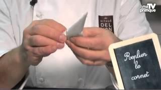 Astuce pâtisserie : Comment fabriquer et écrire avec un cornet ?
