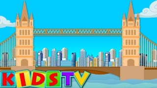 London Bridge Is Falling Down | Nursery Rhyme Kids And Children