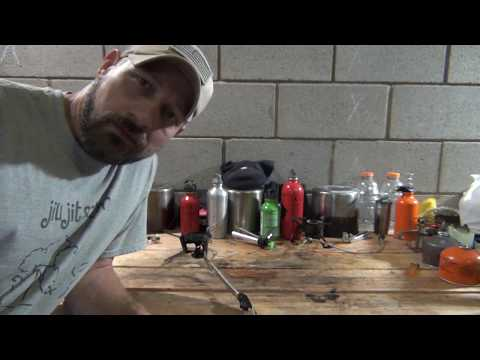 MSR Whisperlite Universal - fuel line cleaning and maintenance