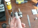 First Lathe Part turned on Micromark 7x14 mini lathe ! Includes Threading!