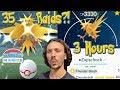 35 RAID in 3 HOURS?! IS IT POSSIBLE?? SHINY ZAPDOS RAIDING FRENZY! 2 100 IV ZAPDOS - Pokemon Go