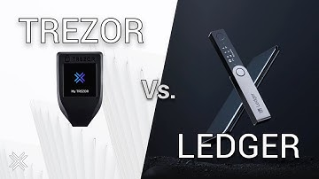 Trezor vs Ledger (Trezor Model T, Ledger Nano S Hardware Wallet Review/Best cryptocurrency wallet)