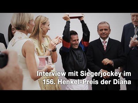 Interview mit Siegerjockey im 156. Henkel-Preis der Diana