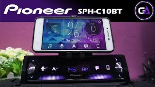 HEAD UNIT PIONEER SPH-C10BT - REVIEW Indonesia