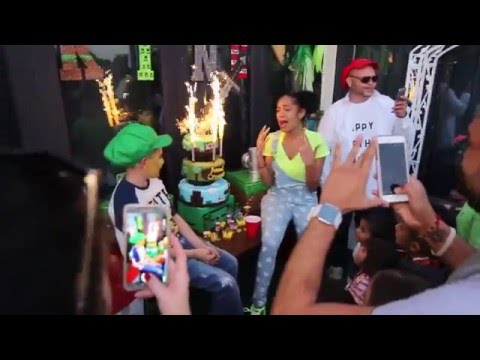 KING B DAY - Erica Mena son extravaganza party with her ...