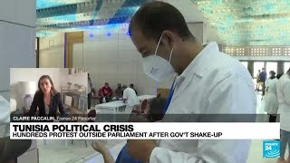 Violent protests in Tunisia over the economy, virus spread • FRANCE 24 English