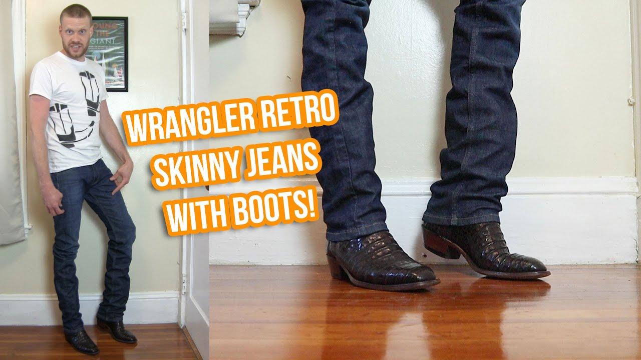 Men's Wrangler Retro Skinny Jeans with