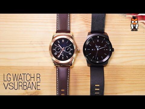 LG Watch Urbane VS LG Watch R