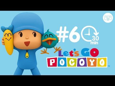 Let's Go Pocoyo! 30 MINUTOS [Episodio 6] en HD
