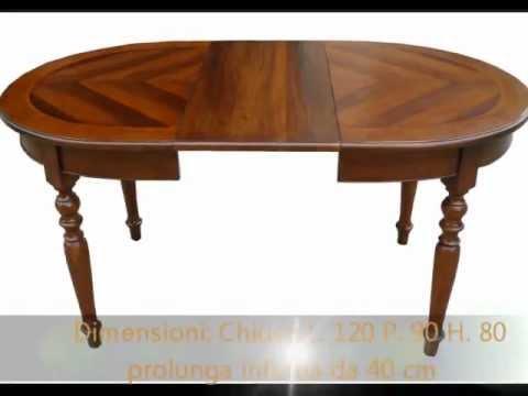 Produzione tavolo tavoli artigianali ovali rotondi su misura ...