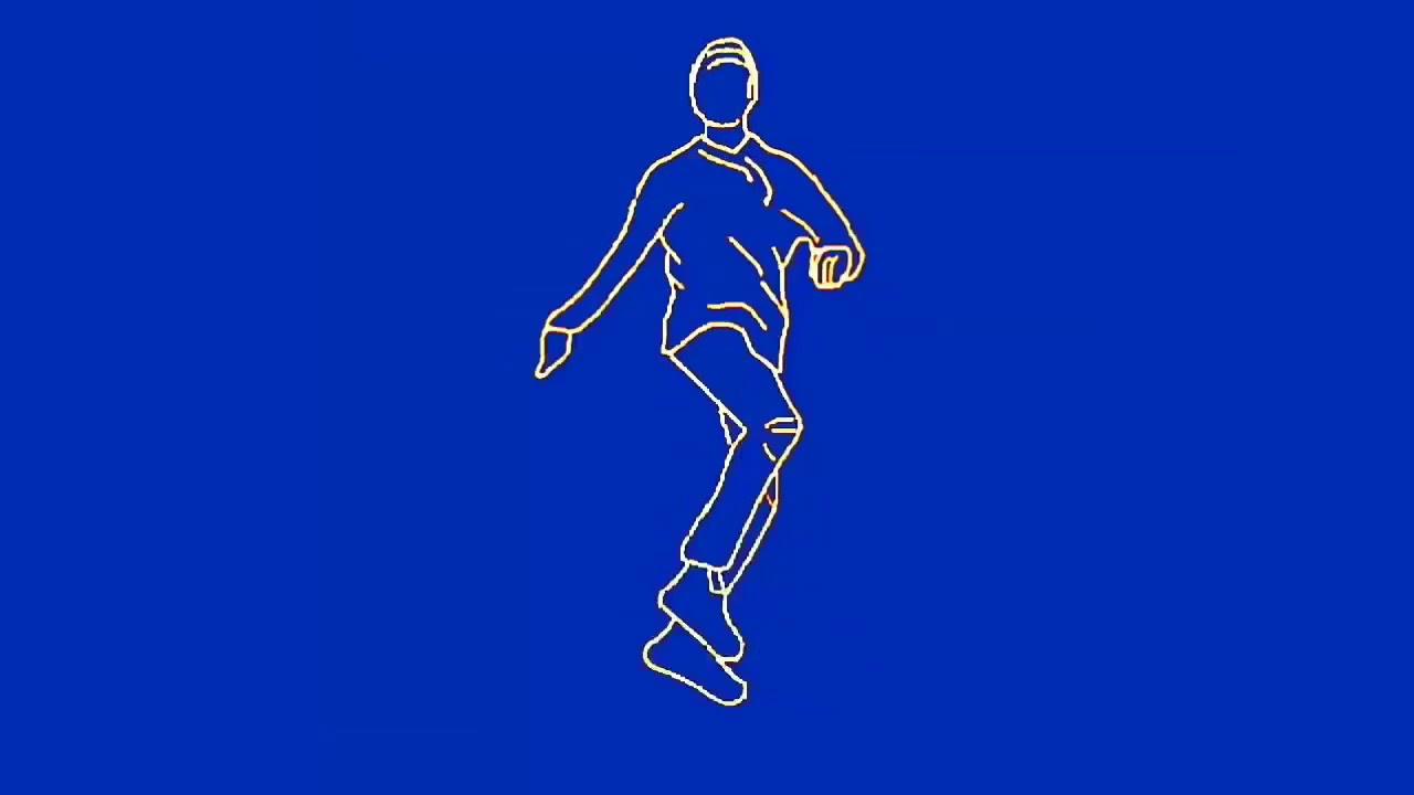 Video Animasi bergerak dance 3d - YouTube