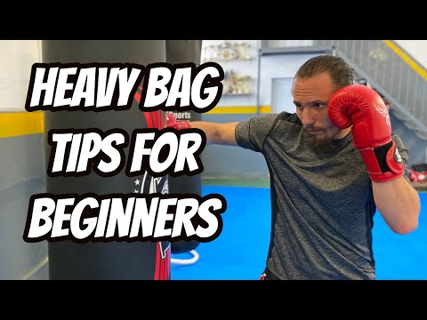 5 Tips How to start working out on the Heavy bag for Beginners