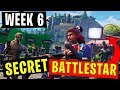 Week 6 SECRET BATTLESTAR location | Fortnite
