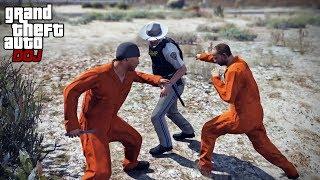 GTA 5 Roleplay - DOJ 203 - Escaped Convicts (Criminal)